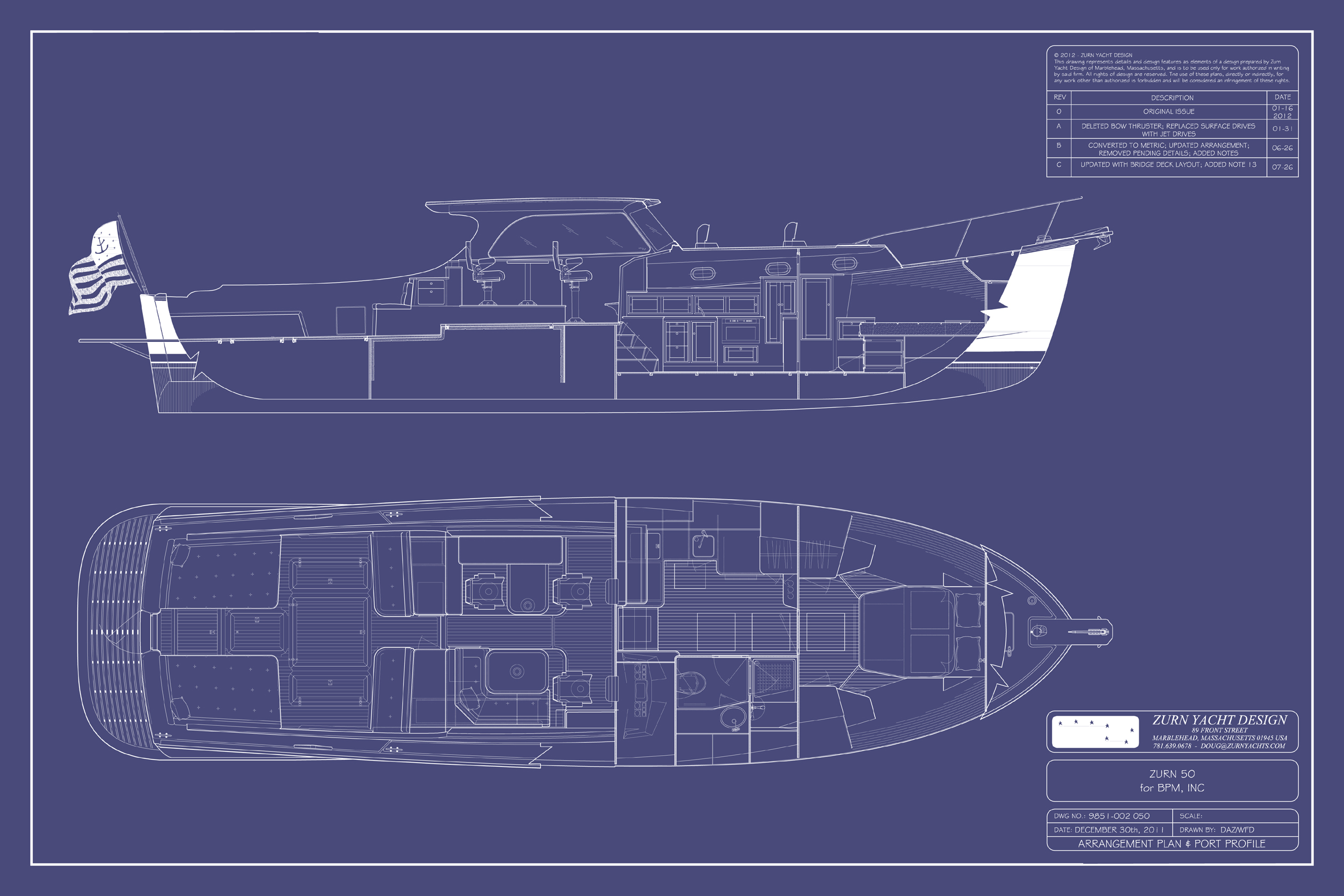 Zurn 50 | Zurn Yacht Design