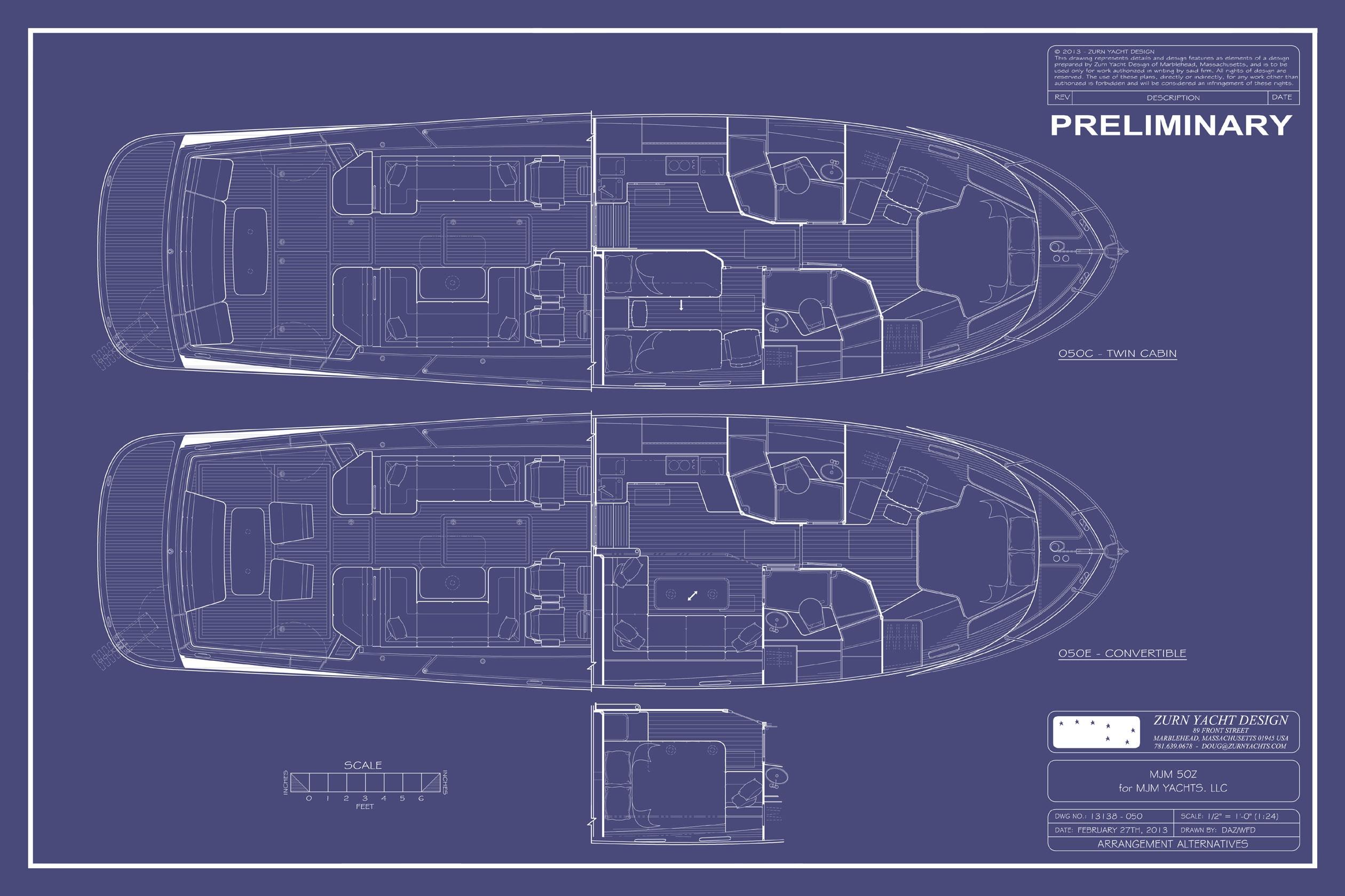 MJM 50Z   Zurn Yacht Design